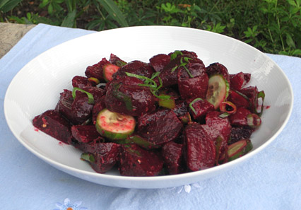 cardamom ginger beets