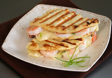 shrimp naanwich